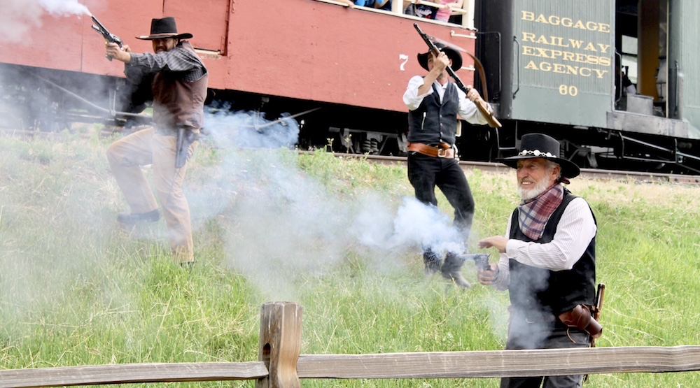 Colorado Railroad Museum Gun Fight