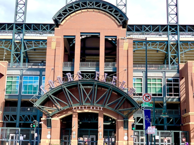 Entry to Coors Field - First Base