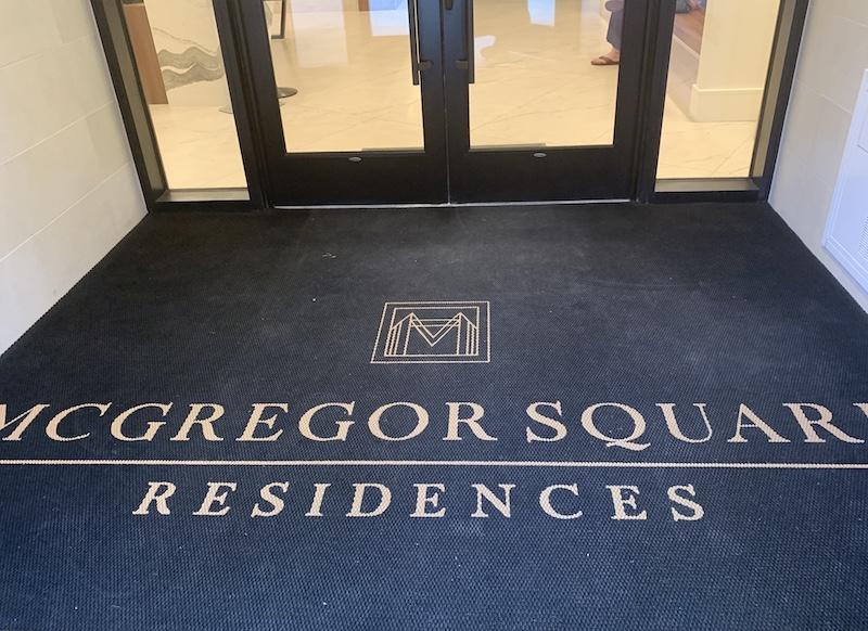 McGregor Square Residences entryway